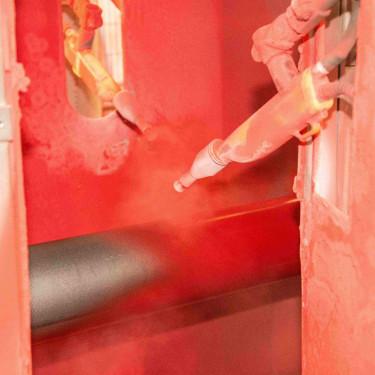 La vernicciatura dei tubi di acciaio - Accitubi