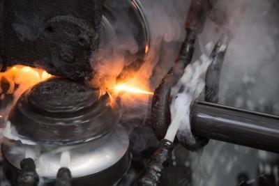 Elaboración del tubo en acero